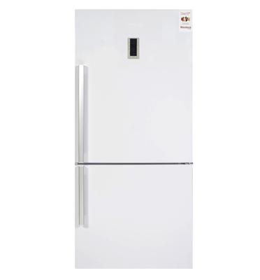 מקרר עם מקפיא תחתון נפח 554 ליטר בצבע לבן תוצרת Blomberg. דגם KND3950W