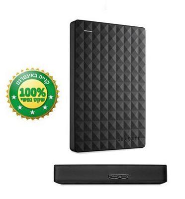 """דיסק קשיח חיצוני 2.5"""" בנפח 1000GB בחיבור מהיר USB 3.0 מבית SEAGATE דגם STEA1000400"""
