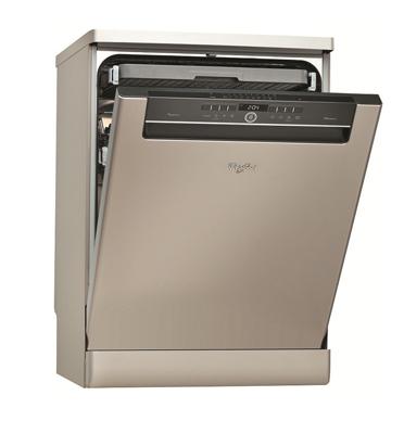 מדיח כלים רחב ל-13 מע' כלים החוש השישי תוצרת .Whirlpool עם Power Clean דגם ADP9070IX