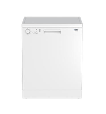 מדיח כלים רחב ל-12 מע' כלים תוצרת Beko צבע לבן דגם DFC04210W