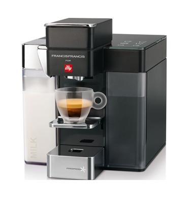 """מכונת קפה בלחיצת כפתור מבית illy דגם Y5MILK + מתנה: 100 ש""""ח לרכישת קפסולות!"""