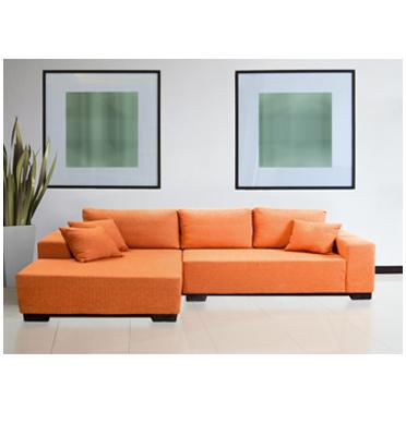 מערכת ישיבה פינתית 5 מושבים הכוללת 3 כריות לנוחות אופטימלית תוצרת RAM DESIGN דגם לוקאס