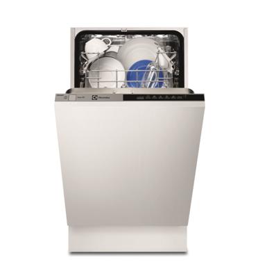 """מדיח כלים צר אינטגרלי מלא 45 ס""""מ ל-9 מערכות כלים תוצרת ELECTROLUX דגם ESL4500LO"""