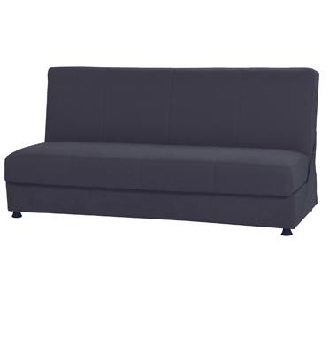 ספה נפתחת למיטה,קלה לפתיחה כוללת ארגז מצעים וזוג כריות נוי תואמות! תוצרת SIRS דגם פריז