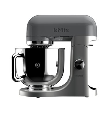 מיקסר מקצועי KENWOOD מסדרת מסדרת kMix POPART בצבע אפור דגם KMX70GY +שירות VIP