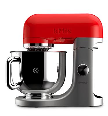 מיקסר מקצועי KENWOOD מסדרת מסדרת kMix POPART בצבע אדום דגם KMX50RD +שירות VIP
