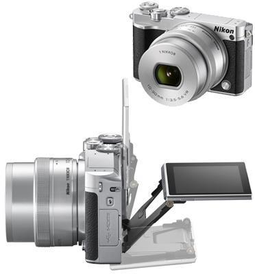 מצלמה ללא מראה 4K 20MP וידאו עדשה 10-30mm VR PD תוצרת NIKON דגם NIKON 1 J5
