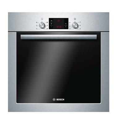 תנור אפיה בנוי סגירה רכה תא אפייה 67 ליטר הדור החדש! תוצרת בוש בגימור נירוסטה דגם HBG23B350Y