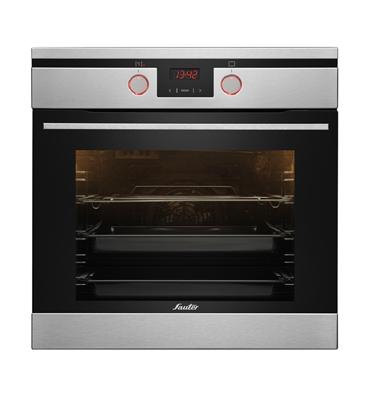 תנור אפייה בנוי תוצרת Sauter גימור נירוסטה דגם SAI1060IX