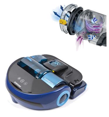שואב אבק PowerBot עם מסך LED לחיווי הפונקציות, 7 תוכניות תוצרת SAMSUNG דגם SR20H9030UB
