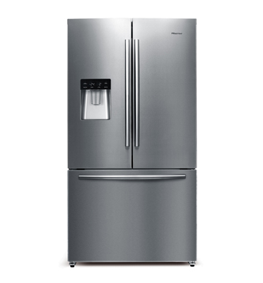 מקרר 3 דלתות בנפח 540 ליטר No Frost  תוצרת Hisense דגם RQ70WC4S
