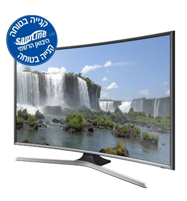 "טלווזיה 48"" SMART TV FULL HD בעלת מסך קעור Curved TV תוצרת SAMSUNG דגם UA48J6300"