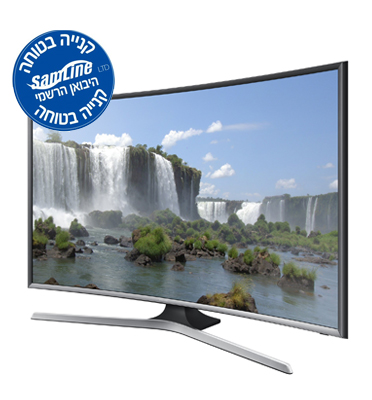 "טלווזיה 48"" SMART TV FULL HD בעלת מסך קעור Curved TV תוצרת .SAMSUNG דגם UA48J6300"