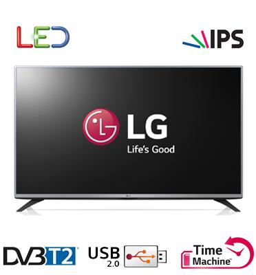"""טלוויזיה 32"""" Slim LED HD עם פאנל IPS, טיונר דיגיטלי, אפשרות הקלטה תוצרת LG דגם 32LF560Z"""