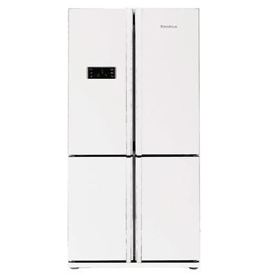 מקרר 4 דלתות בנפח 692 ליטר נטו תוצרת Blomberg צבע לבן דגם KQD1110W
