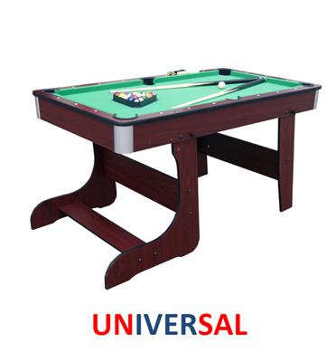 שולחן סנוקר ביתי מתקפל כולל זוג מקלות וסט כדורי משחק 4 פיט