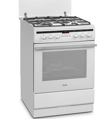 """תנור משולב כיריים ברוחב 60 ס""""מ תוצרת SAUTER. דגם SAF860"""