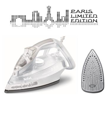 מגהץ אדים 2300W SUPERGLISS- Paris Limited Edition תוצרת TEFAL דגם FV3845