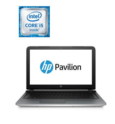 """מחשב נייד 15.6"""" 6GB דיסק קשיח 1TB מעבד Intel® Core™ i5-6200U Proccesor תוצרת HP דגם 15-ab206nj"""