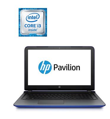 """מחשב נייד 15.6""""  Intel® Core™ i3-6100U Proccesor תוצרת .HP דגם 15-ab201nj"""