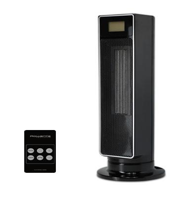 מקרן חום מגדל קרמי מצודד ROCERAM עם צג LCD תוצרת TEFAL דגם SE9040
