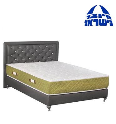מיטה מרופדת בדמוי עור בגודל 190X140 מבית אולימפיה דגם 45521