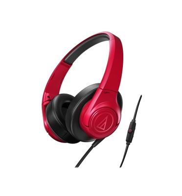 אוזניות קשת עם מיקרופון דגם Audio technica AX3iS