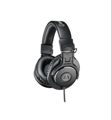 אוזניות קשת מקצועיות Audio Technica ATH-M30XBK