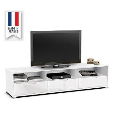 מזנון 1.8 מ' בגימור לבן מבריק תוצרת צרפת HOME DECOR דגם קליאו