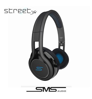אוזניות On Ear מדגם STREET מבית SMS by 50