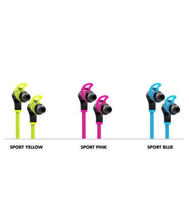 אוזניות עם דיבורית מדגם In-Ear Sport מבית SMS Audio