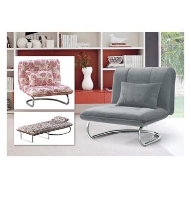 כורסא בד מעוצבת נפתחת למיטה תוצרת BRADEX דגם S0917