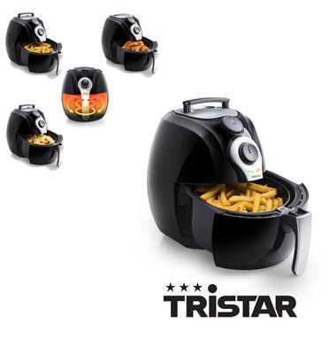 מכשיר טיגון ללא שמן מתאים גם לאפייה וצלייה ללא שמן ! תוצרת Tristar דגם FR6990