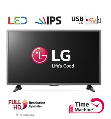"""טלוויזיה 49"""" Slim LED  ברזולוציית FULL HD עם פאנל IPS, טיונר דיגיטלי תוצרת LG דגם 49LF510Y"""
