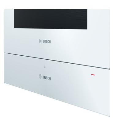 מגירת חימום בצבע לבן סדרה 8 תוצרת BOSCH דגם BIC630NW1