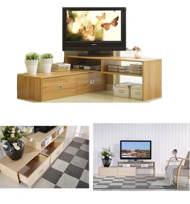 מזנון טלוויזיה מודולרי תוצרת BRADEX דגם FLIPPER