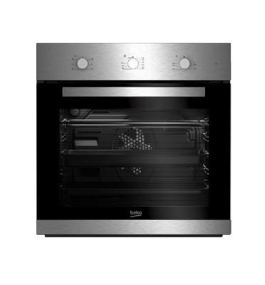 תנור אפיה בנוי תא אפייה גדול במיוחד 65 ליטר תוצרת BEKO. דגם BIE22100X