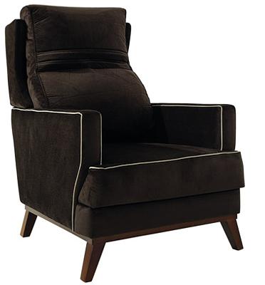 כורסא סלונית מהודרת משענת גב גבוהה מבית רהיטי דפנה דגם כרמן