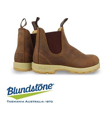 מגף אוסטרלי מעור אמיתי הפוך להליכה יום יומית לגברים וגם לנשים תוצרת Blundstone דגם 1320