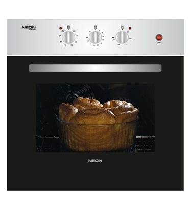 תנור אפייה בנוי 61 ליטר בעיצוב קלאסי עם טורבו תוצרת NEON דגם NE-BI6