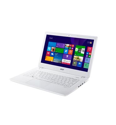 """מחשב נייד 13.3"""" דק קל בצבע לבן פנינה 4GB  Inte® Core i3 מבית ACER דגם Aspire  V3-371- 34HD"""