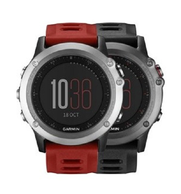 שעון דופק  כולל רצועת דופק HRM RUN תוצרת GARMIN דגם fenix 3