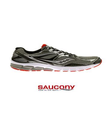 נעלי ריצה לגבר בעל בסיס רחב ויציב תוצרת SAUCONY LANCER דגם WIDE