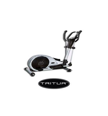 """אליפטיקל בעל גלגל תנופה גדול 20 ק""""ג כולל מחשב אימון מתקדם תוצרת Tritur דגם EL304"""