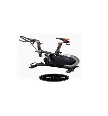 """אופני ספינינג חשמלי ממוחשב עם צג גלגל תנופה 30 ק""""ג תוצרת TRITUR דגם 848"""