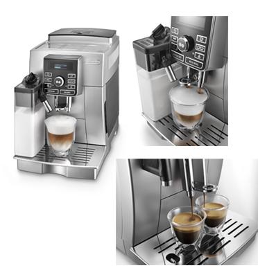 מכונות קפה אספרסו תוצרת DeLonghi דגם  ECAM 25.462.S