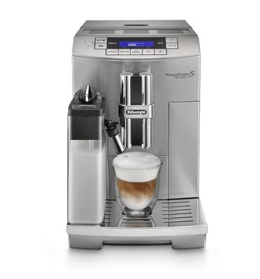 מכונות קפה אספרסו תוצרת DELONGHI דגם ECAM 28.465.M  DE LUXE PRIMADONNA  S