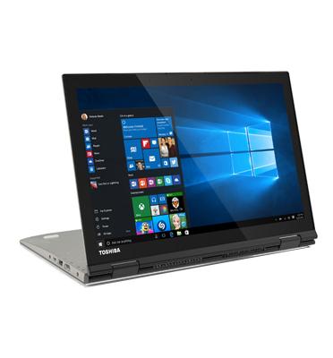 """מחשב נייד משולב טאבלט עם 5 מצבים, מסך 12.5"""" Intel® Core™ i7 8GB תוצרת TOSHIBA דגם P20W-C-106"""