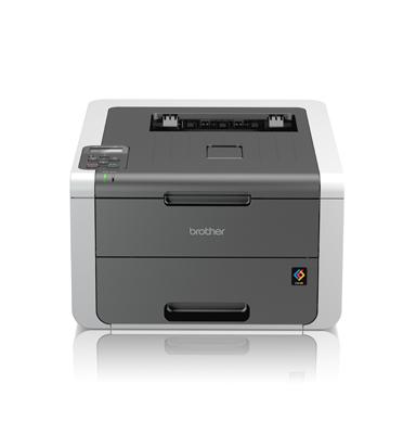 מדפסת צבע LED קומפקטית תוצרת BROTHER דגם HL-3140CW