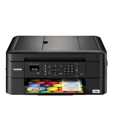 מדפסת משולבת דיו, צבעונית אישית תוצרת BROTHER דגם MFC-J480DW